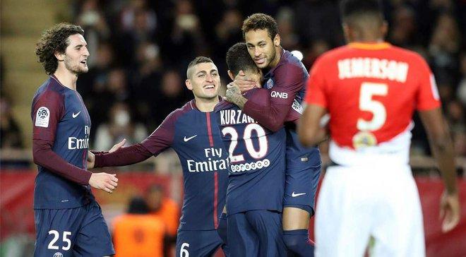 ПСЖ повторил рекорд результативности чемпионата Франции 48-летней давности