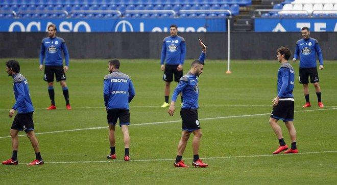 Бійка футболістів Депортіво зірвала тренування команди