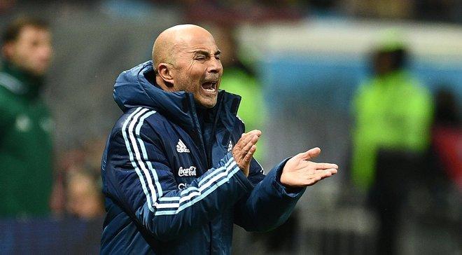 Сампаолі: Аргентина на ЧС-2018 буде атакувати 6-ма гравцями і захищатись 4-ма