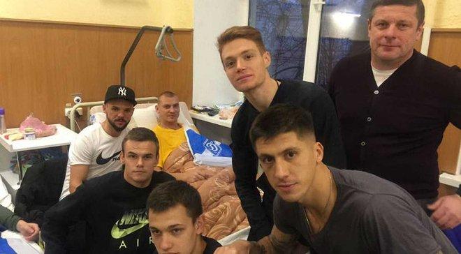 Гравці Динамо одразу погодились провідати бійців АТО, – президент фан-клубу киян