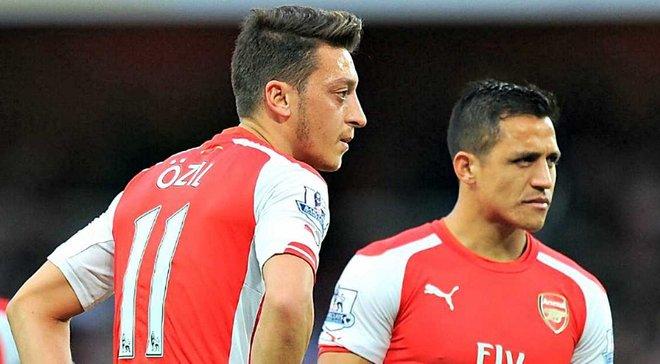 Венгер: Озіл і Санчес не покинуть Арсенал взимку