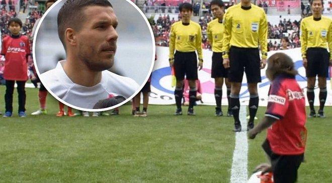 Мавпа винесла м'яч арбітру перед стартом матчу чемпіонату Японії