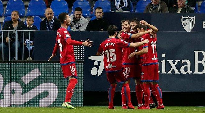 Нумансия сенсационно выбила Малагу из Кубка Испании