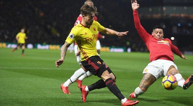 Манчестер Юнайтед победил Уотфорд, Вест Бромвич сыграл вничью с Ньюкаслом