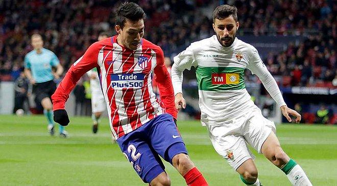 Кубок Іспанії: Атлетіко пройшов Ельче, Атлетік вилетів від Форментери, Лас-Пальмас програв Депортіво, але вийшов у 1/8 фіналу