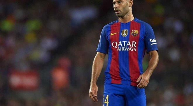 Маскерано: Мій час у Барселоні підходить до завершення