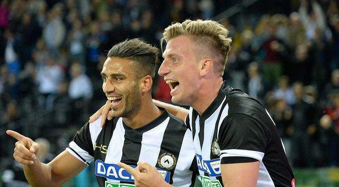 Удинезе эффектно разбил Перуджу в 1/16 Кубка Италии – команды забили 11 голов, а Макси Лопес оформил покер