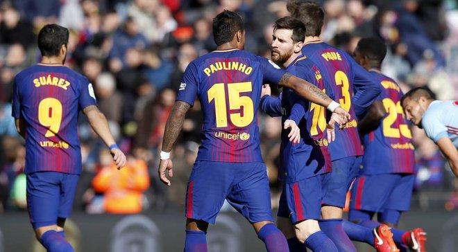 """Барселона та Сельта зіграли внічию на """"Камп Ноу"""""""