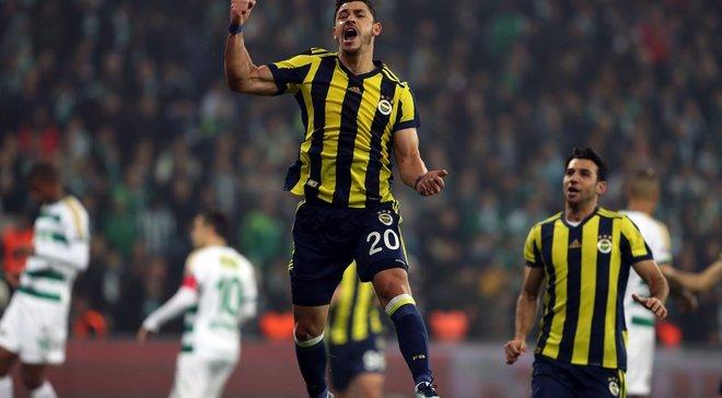 Джуліано вивів Фенербахче на 2-е місце, забивши 8-й гол у чемпіонаті Туреччини