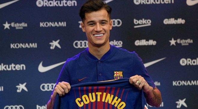 Коутиньо получит 14 номер в Барселоне, – Sky Sports