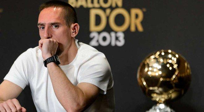 """Рібері: Вважаю, що я повинен був отримати """"Золотий м'яч-2013"""""""