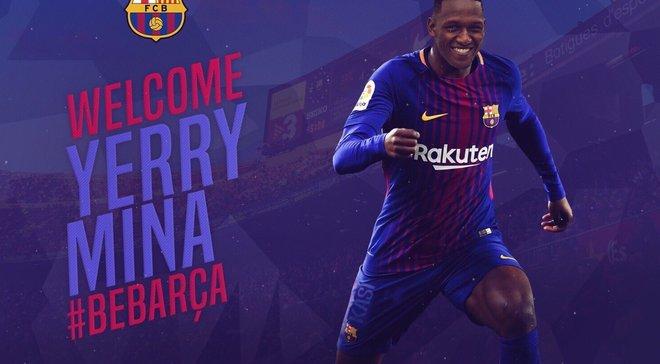 Мина подписал контракт с Барселоной, – СМИ