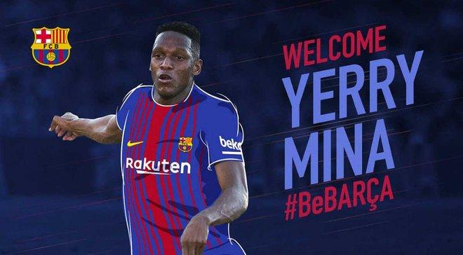 Міна офіційно перейшов у Барселону