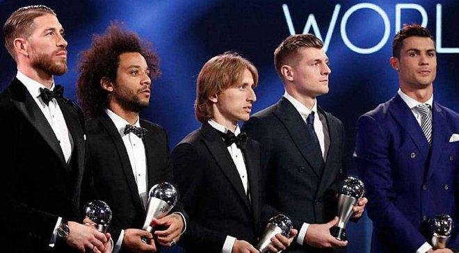 УЄФА назвав команду 2017 року