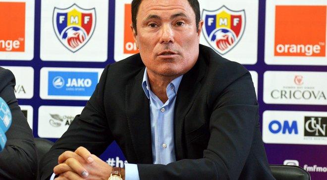 Экс-тренер Шахтера Спиридон возглавил сборную Молдовы