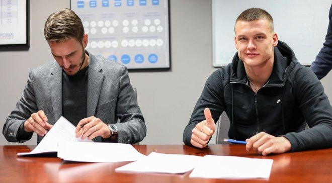 Хобленко: Боремся за чемпионство, надеюсь забить за Лех как можно больше голов
