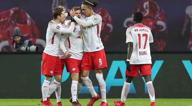 РБ Лейпциг – Шальке – 3:1 – видео голов и обзор матча