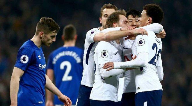 Тоттенхем – Евертон – 4:0 – відео голів та огляд матчу