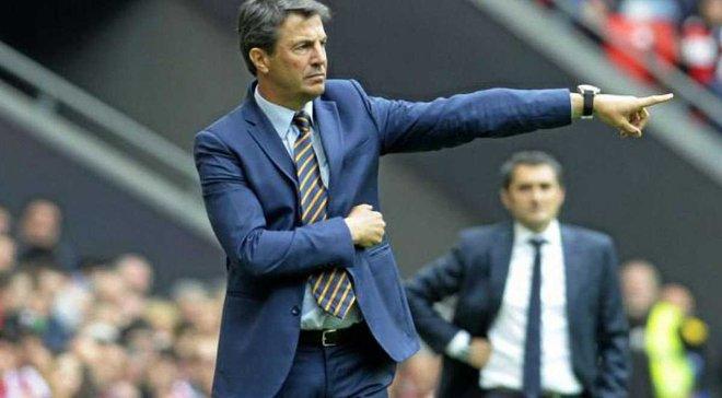 Хосе Лопес став головним тренером Малаги