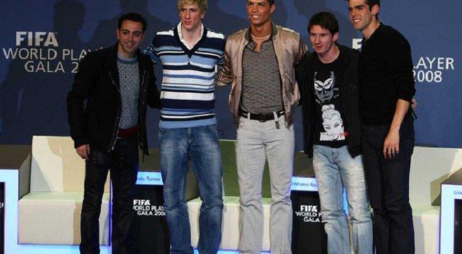 """Торрес та ще 6 гравців, які могли б виграти """"Золотий м'яч"""", якби у футболі не було Мессі та Роналду"""