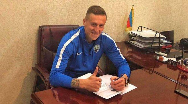 Літовченко перейшов у Кяпаз