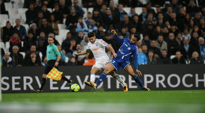 Лига 1: Марсель одолел Страсбур, Кан в большинстве победил Бордо в гостях