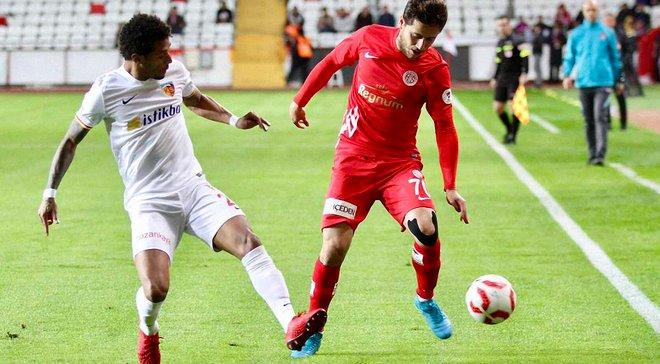 Кайсериспор Кучера и Кравца одолел Антальяспор во втором матче 1/8 финала Кубка Турции