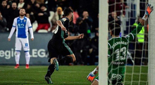 Топ-новости: Реал вырывает победу в 1/4 Кубка Испании, Обамеянг близок к уходу из Боруссии, Лунина хотят в АПЛ и Примере