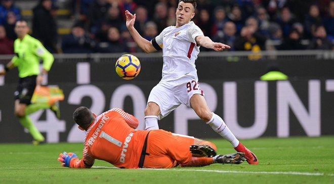 Рома втратила перемогу над Інтером на останніх хвилинах