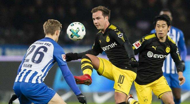 Топ-новости: Боруссия Ярмоленко снова потеряла очки, украинские команды синхронно проиграли на сборах, Бавария подписала Горецку