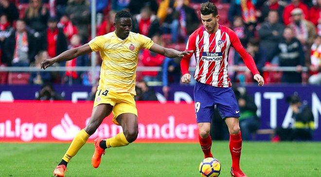Атлетико потерял очки в матче против Жироны