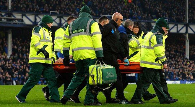 Захисник Евертона Джеймс Маккарті отримав подвійний перелом ноги
