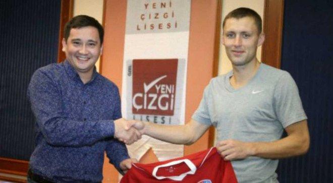 Андрей Ткачук подписал с Акжайыком контракт на 1 год
