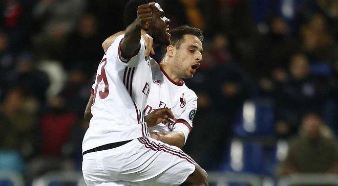 Кальяри – Милан – 1:2 – видео голов и обзор матча