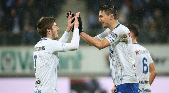 Яремчук забив 4-й гол за Гент – постраждав Локерен
