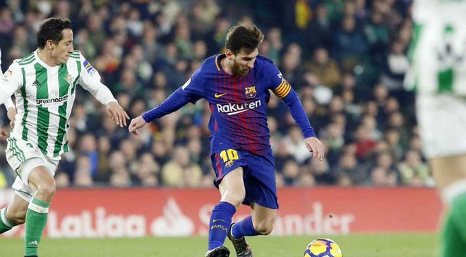 Бетис – Барселона – 0:5 – видео голов и обзор матча
