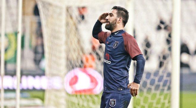 Туран забив розкішний гол у дебютному матчі за Башакшехір