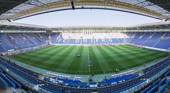 СК Днепр-1 – единственный арендатор Днепр-Арены, стадион перейдет на баланс ФФУ, – Береза