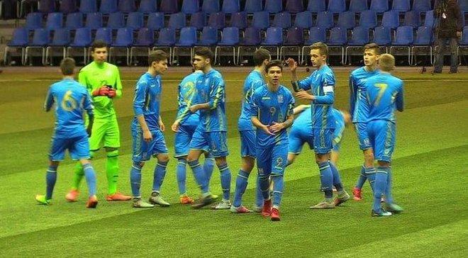 Збірна України U-17  розгромила однолітків з Молдови