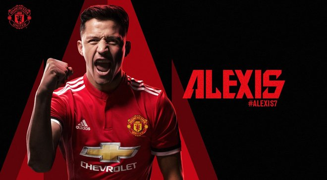 Алексис Санчес – игрок Манчестер Юнайтед