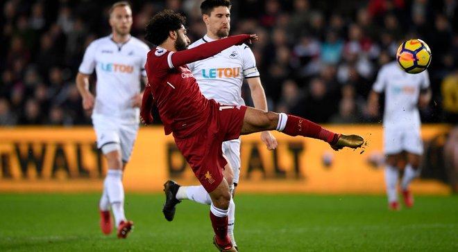 Ливерпуль сенсационно проиграл Суонси – главному аутсайдеру АПЛ