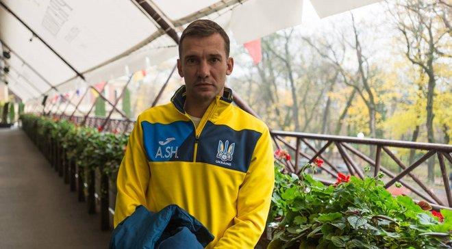 Шевченко про жеребкування Ліги націй УЄФА: Особливих побажань немає