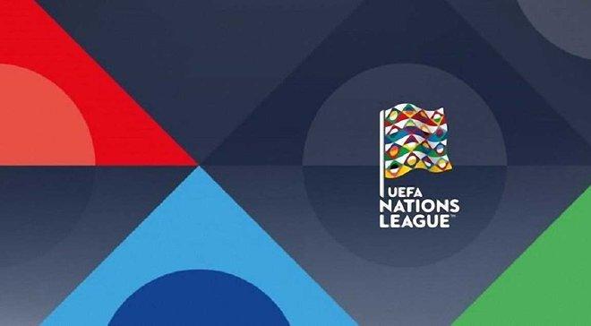 Лига наций УЕФА: результаты жеребьевки