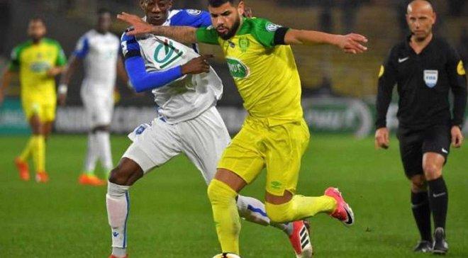 Кубок Франції: Осер вибив Нант у божевільному матчі, Марсель пройшов в 1/8 фіналу