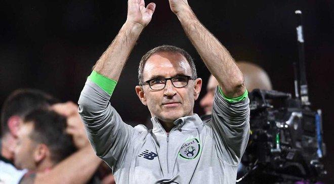 Мартін О'Ніл працюватиме зі збірною Ірландії до 2020 року