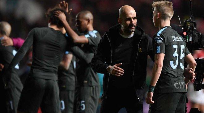 Бристоль Сити – Манчестер Сити – 2:3 – видео голов и обзор матча
