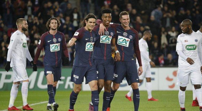 Кубок Франции: ПСЖ и Монпелье вышли в 1/8 финала
