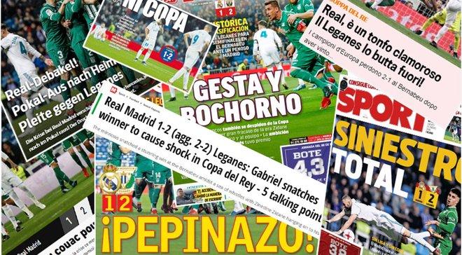 """""""Подвиг та ганьба"""". Матч Реал Мадрид – Леганес в огляді іспанських ЗМІ"""