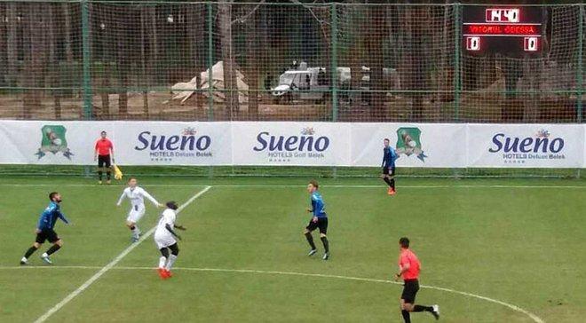 Черноморец уступил Виторулу, но забил первый гол на сборах