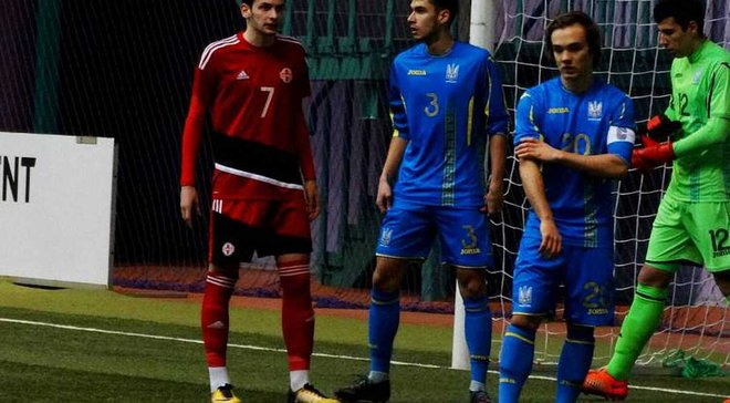 Сборная Украины U-17 победила Грузию U-17 и вышла в плей-офф Кубка Развития